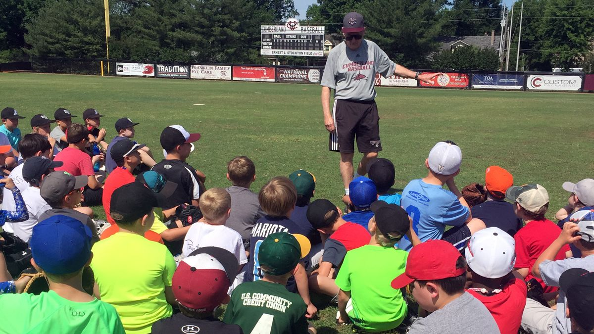 Baseball camps continue throughout June
