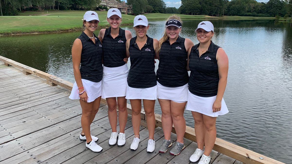 Women's Golf ties for second at Carey Classic