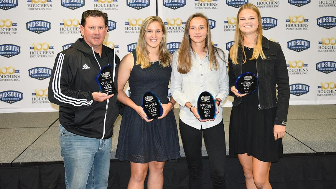 Haddock voted MSC Defensive Player of the Year, Bathe garners Freshman of the Year