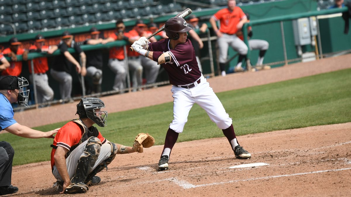 Peyton Wheatley posted two hits, two RBIs and scored a run in CU's 6-5 win Thursday over Pikeville. (Credit Ryan Long, Mid-South Conference)