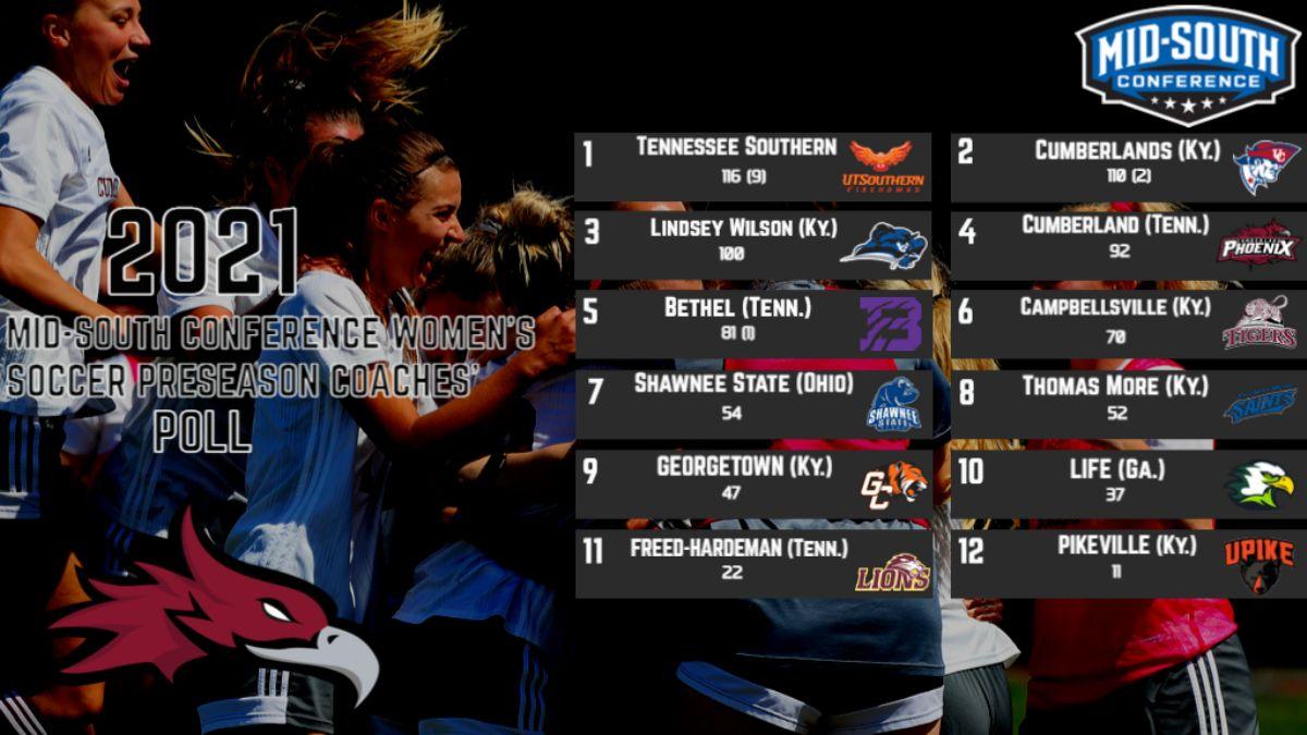 Women's Soccer selected Fourth in MSC Preseason Polls