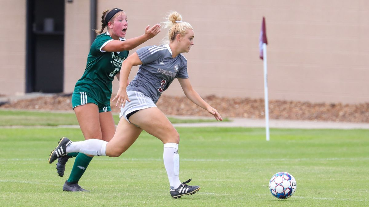 Women's Soccer match with Thomas Determined a No Contest