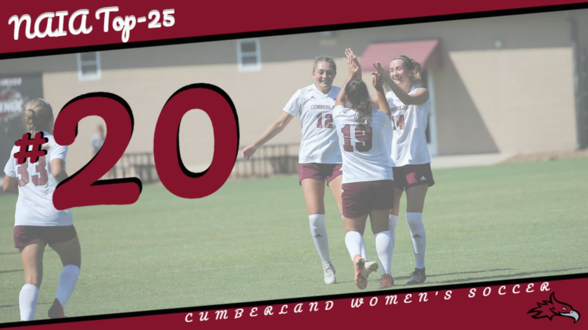Women's Soccer moves up in NAIA Polls