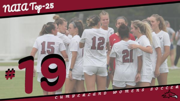 Women's Soccer drops to No. 19 in NAIA Polls