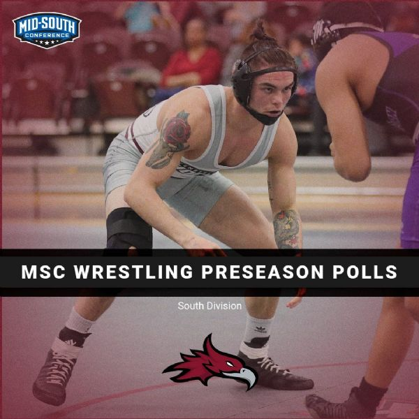 Wrestling Picked Third in MSC South Division