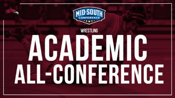 Five Cumberland Wrestlers named Academic All-Conference