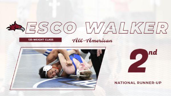 Walker finishes as 133 National Runner-Up