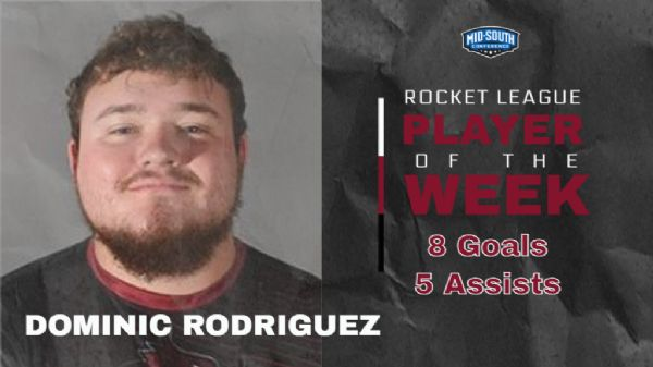 Rodriguez named MSC Rocket League Player of the Week