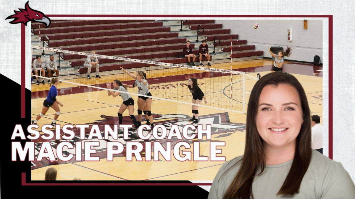 Pringle promoted to Women's Volleyball Assistant