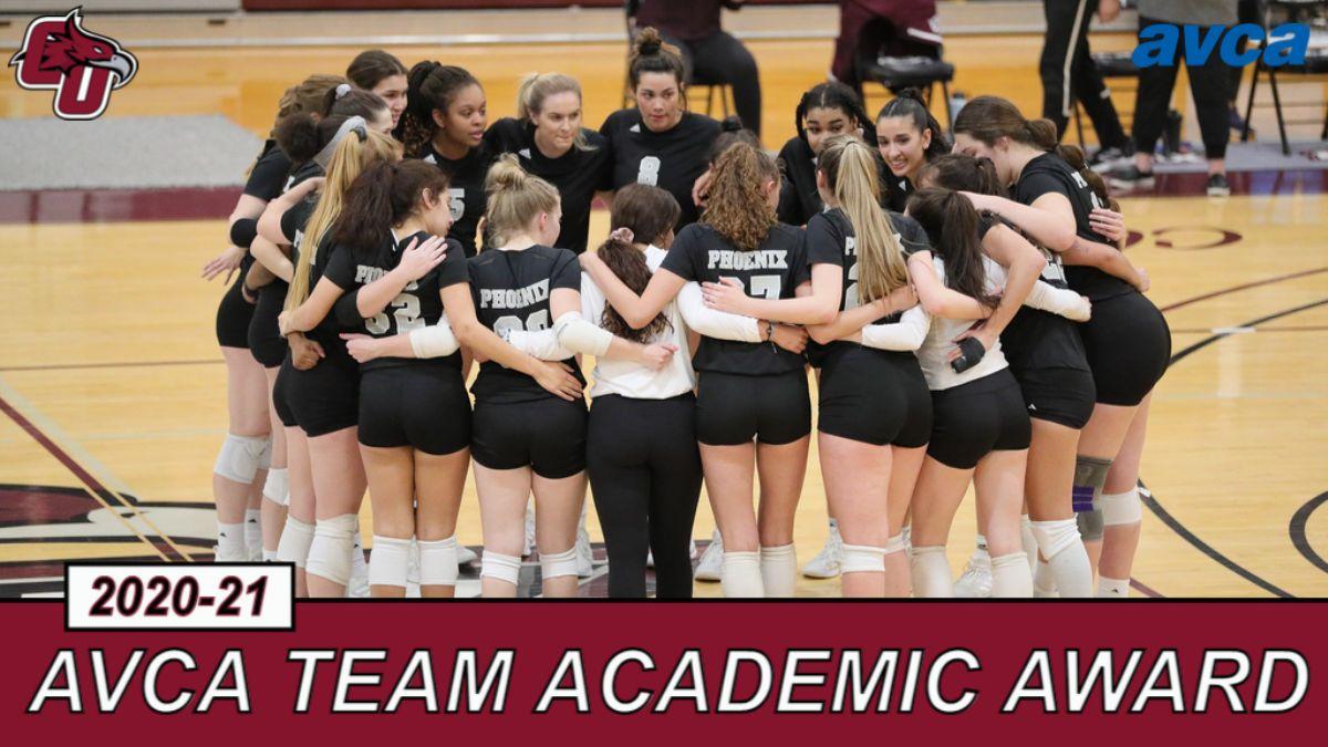 Women's Volleyball Earns Third Straight AVCA Team Academic Award