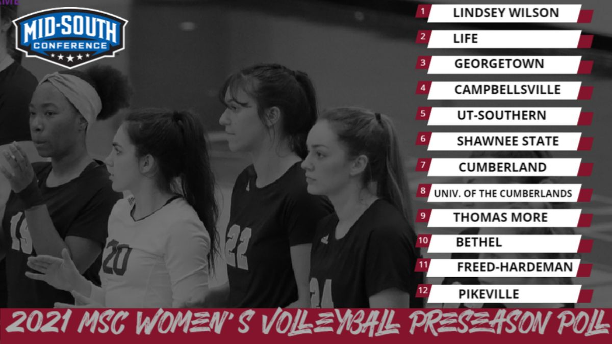 Women's Volleyball selected Seventh in MSC Preseason Coaches' Poll