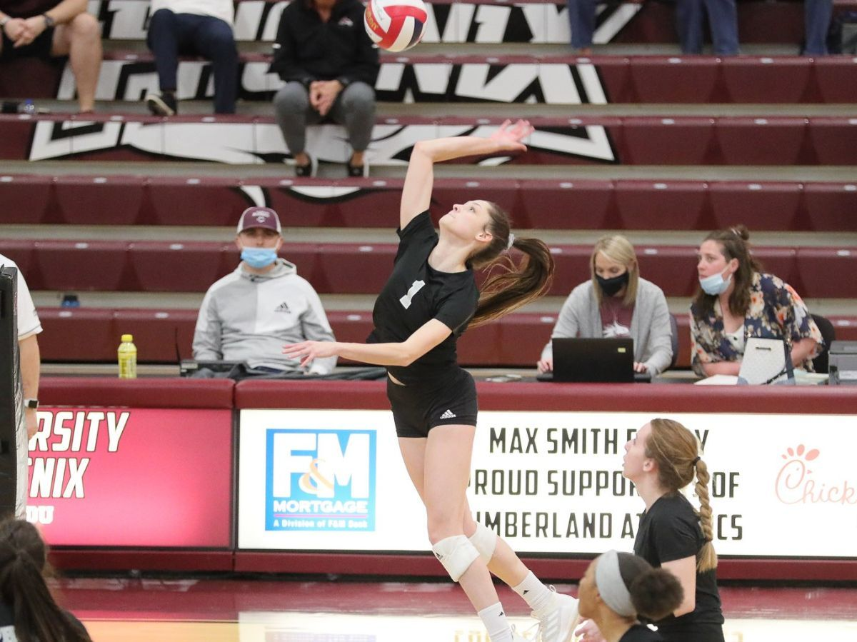 Cumberland WVB goes 2-0 on day two of the Liz Hossler Labor Day Classic