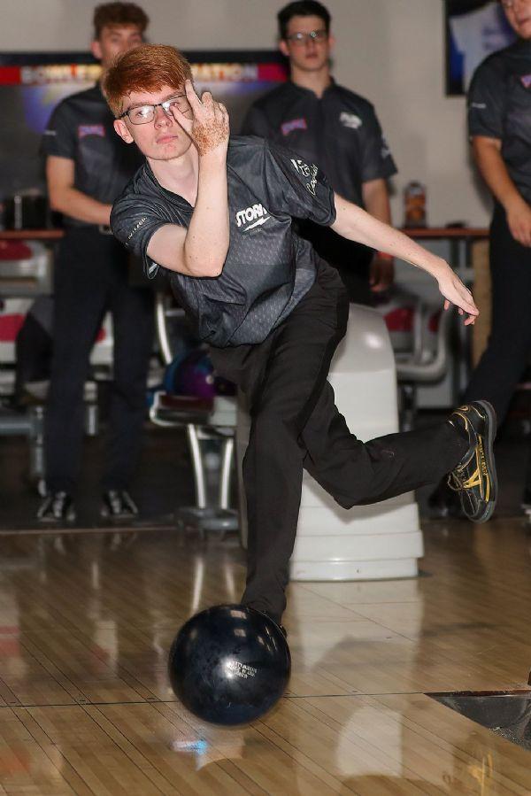 CU Men's bowling competes at the Thomas N. Burris Memorial