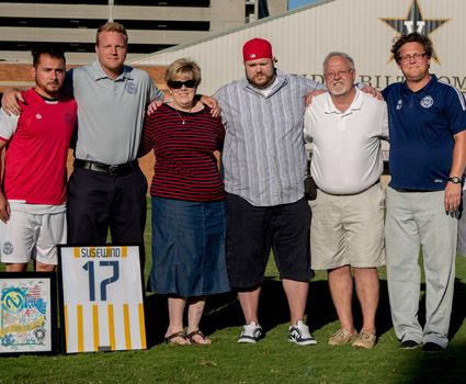 Nashville FC honors former CU assistant Susewind