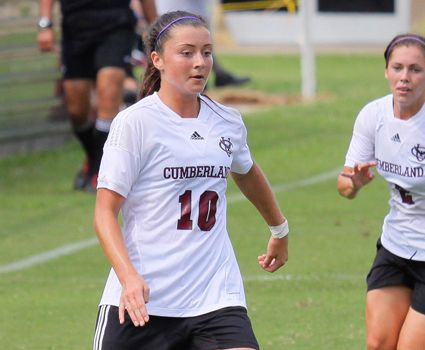 Second-half onslaught carries women's soccer again