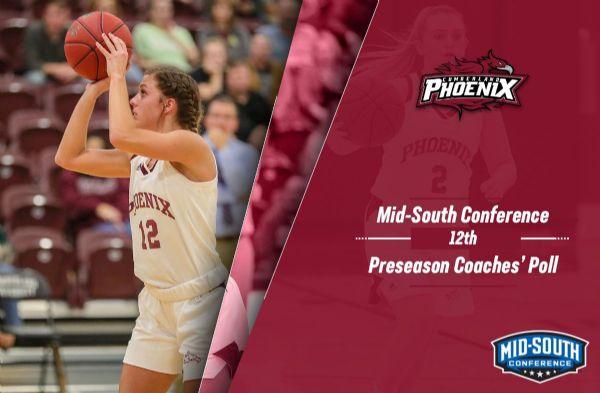 Cumberland Women's Basketball selected 12th in MSC Preseason Coaches' Poll