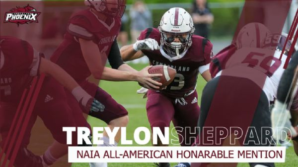 Sheppard named NAIA All-American Honorable Mention