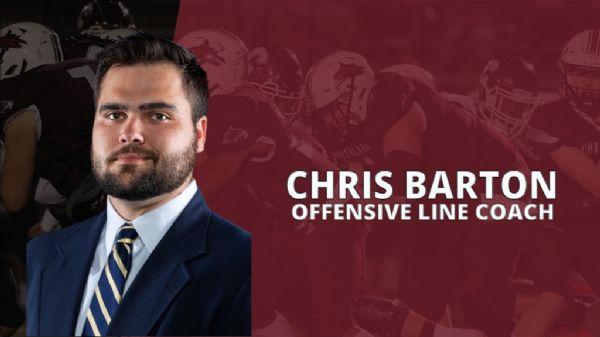 Barton added as O-Line coach to football staff