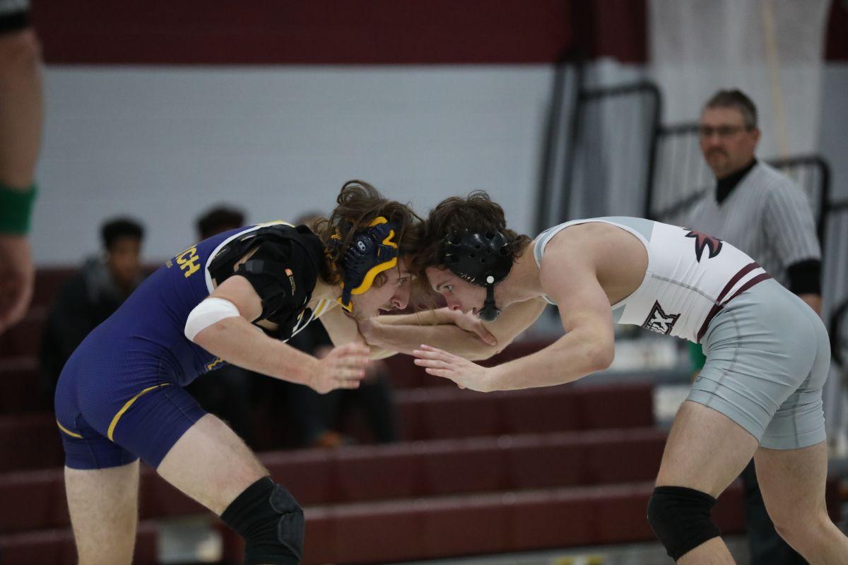 Wrestling takes three of four at the Smokey Mountain Duals