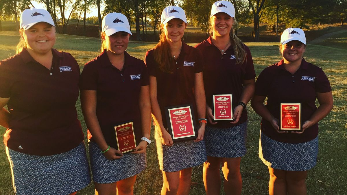 Women's golf ends fall with 16-shot victory
