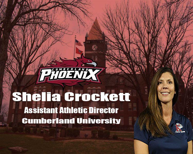 Crockett named Assistant Athletic Director