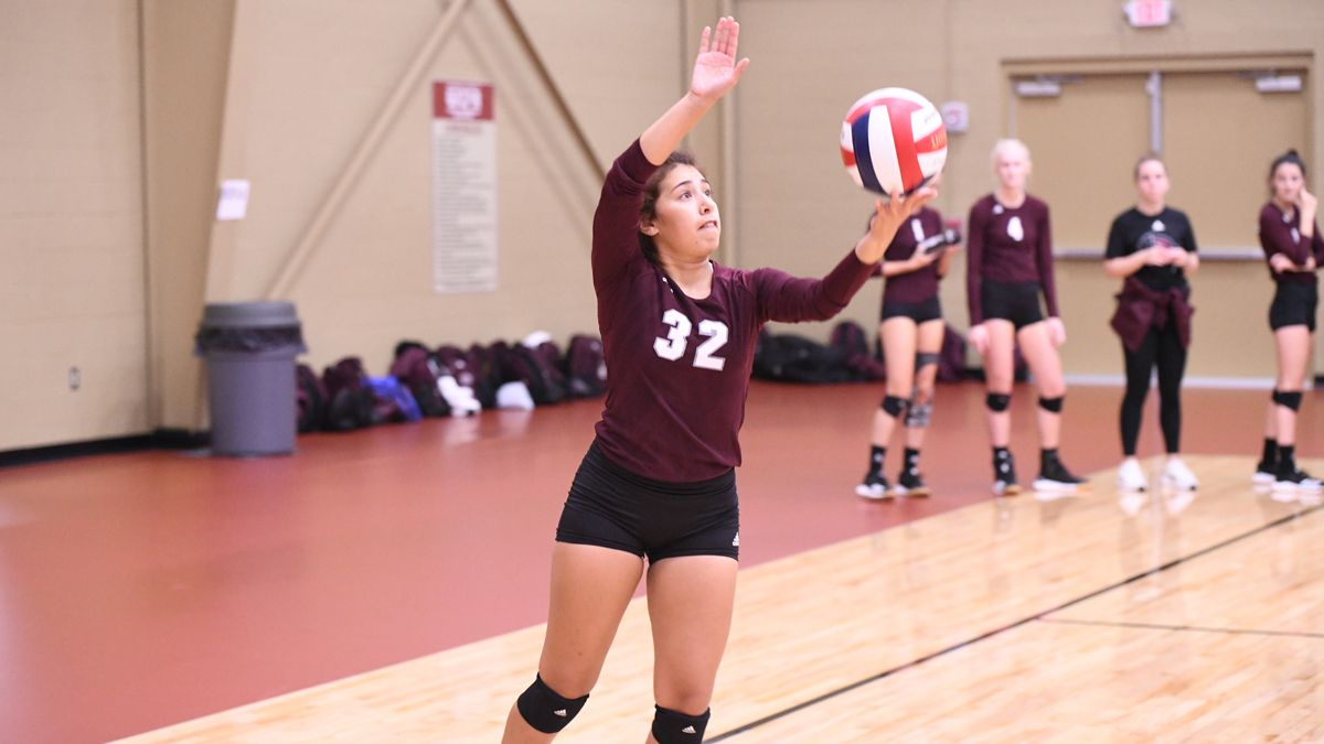 Women's Volleyball Splits Day One at Vette City Volleyball Classic