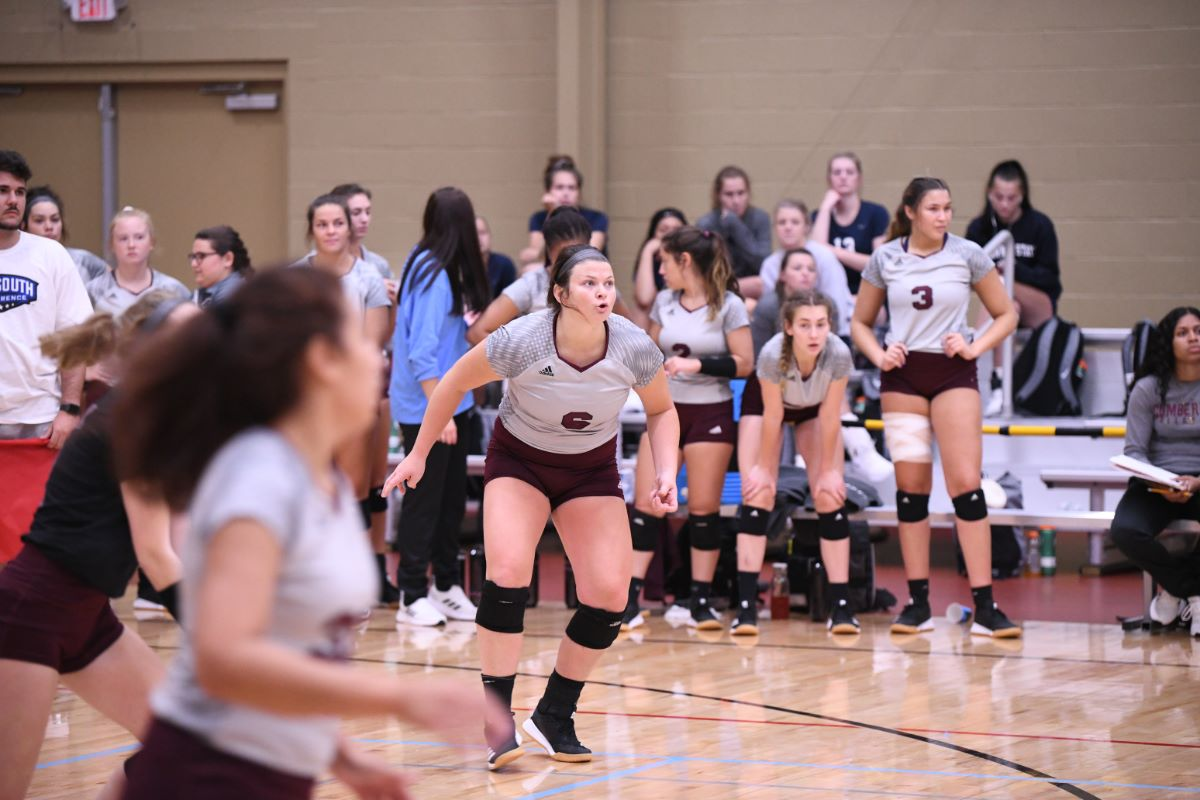 Women sweep Blue Mountain in final game of Vette City Volleyball Classic