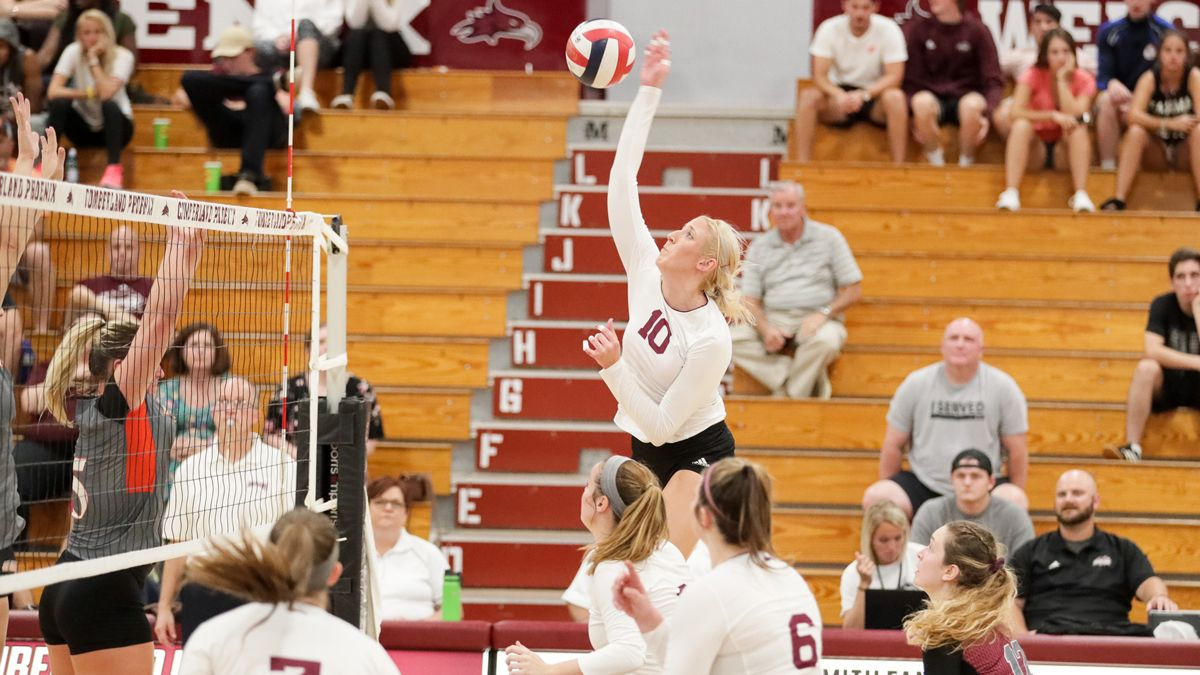 Women's Volleyball Wins in Five Sets at Bethel