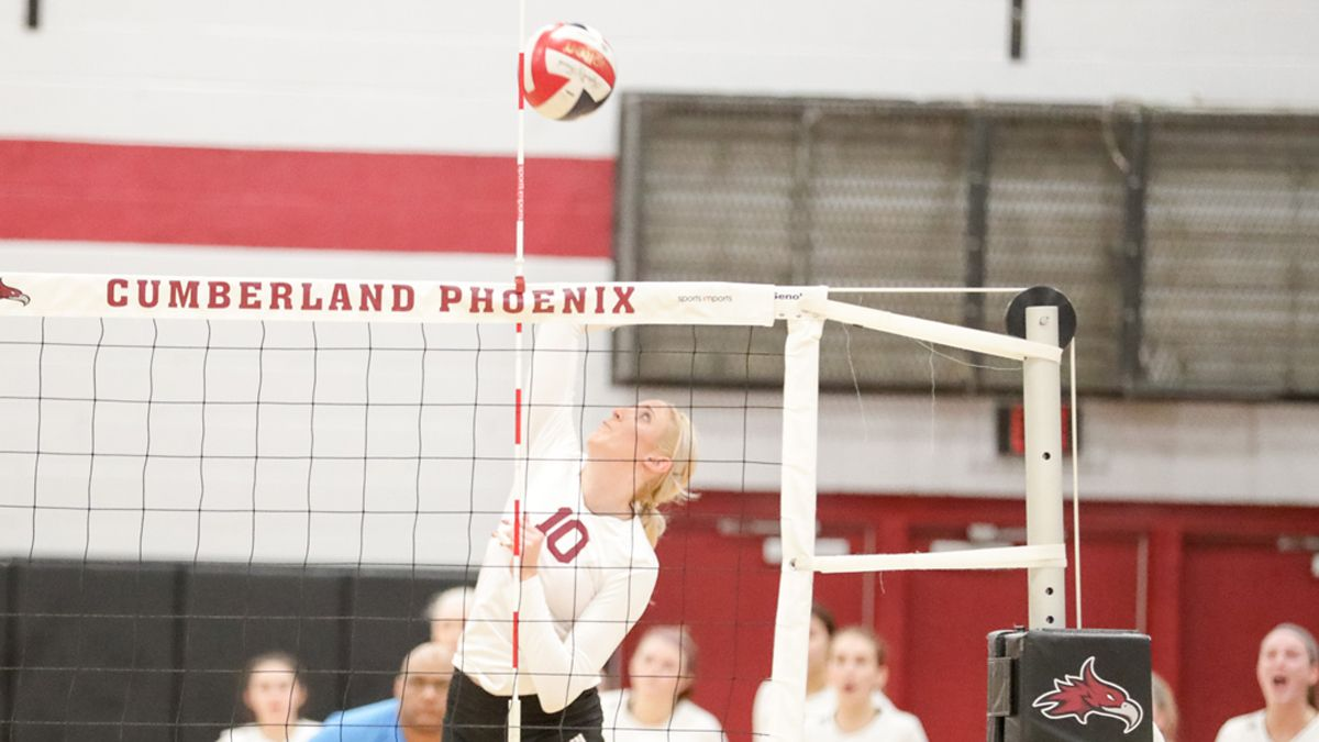 Women's Volleyball sweeps Campbellsville in home opener