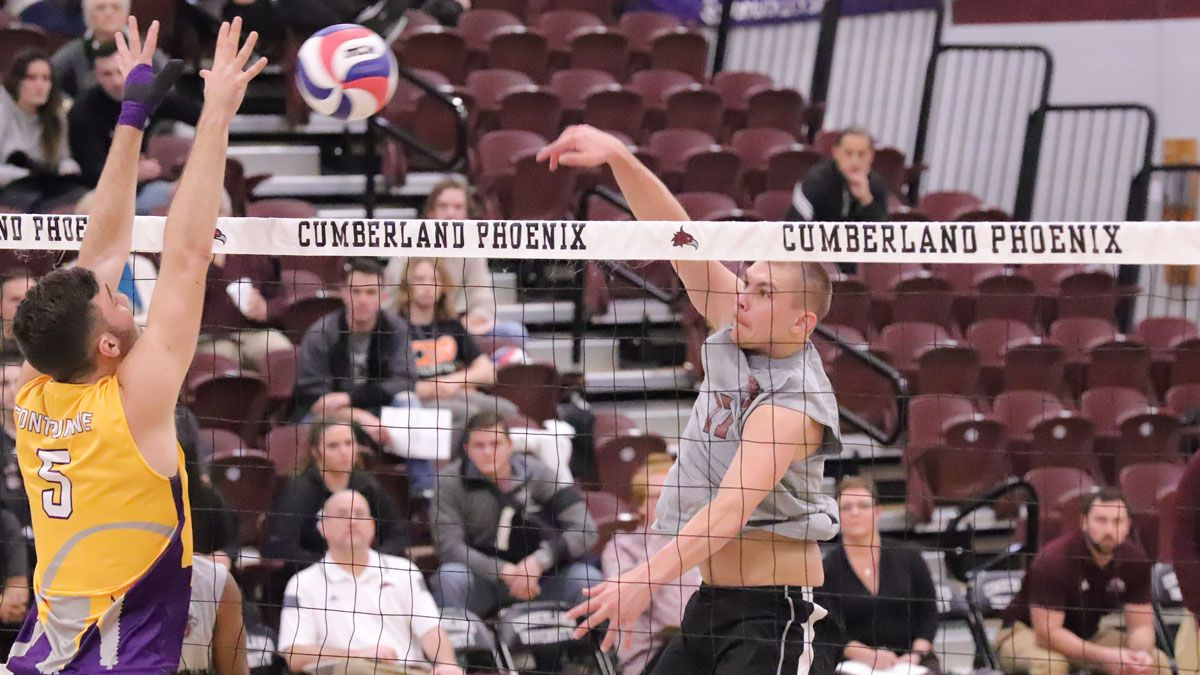 Men's volleyball posts first-ever victory
