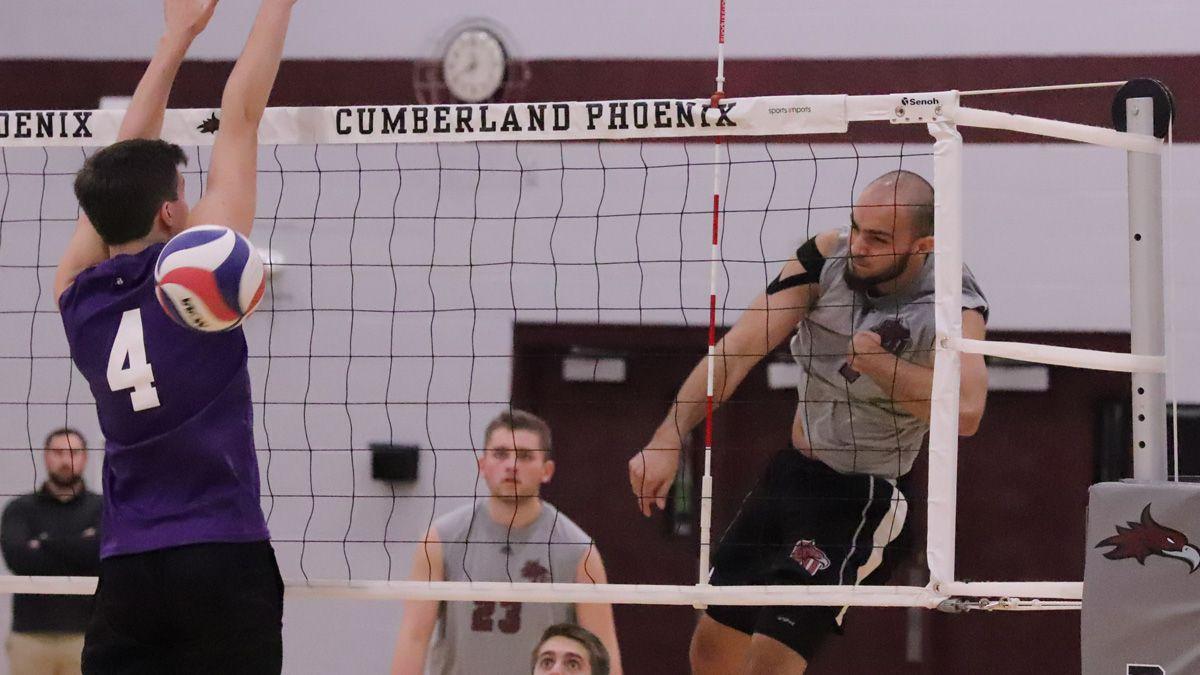 Men's volleyball sweeps Cincinnati Christian