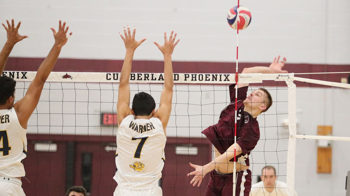 Volleyball ends regular season with road victory
