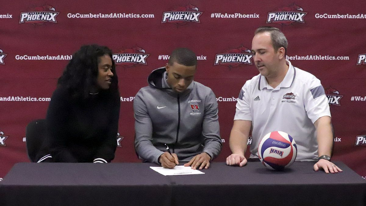 Illinois native McCadd signs with CU men's volleyball