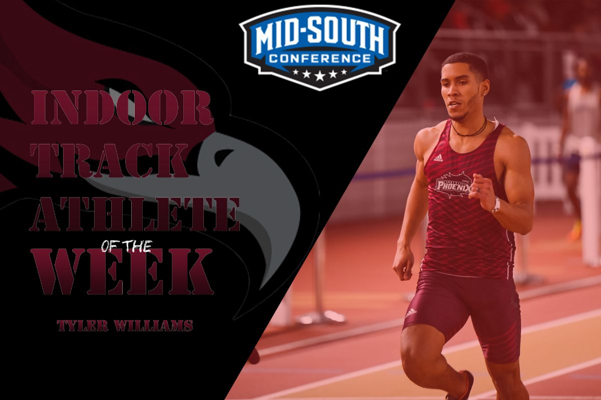 Williams Named Mid-South Track Athlete of the Week