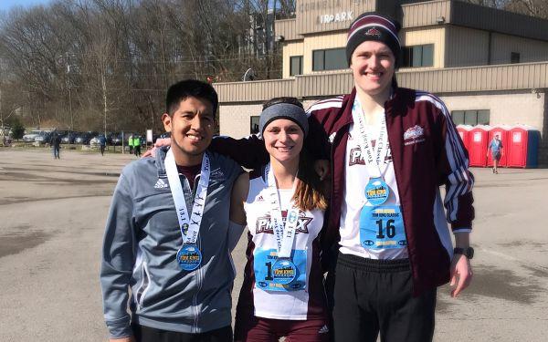 Three qualify for NAIA Marathon Event