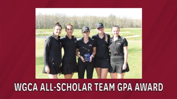 Women's Golf earns Top-10 in WGCA NAIA All-Scholar Team GPA Award