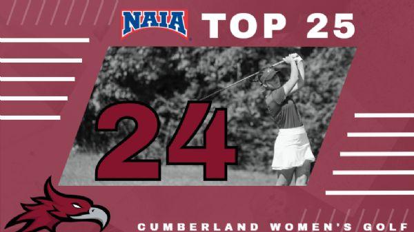 Women's Golf starts season at 24th in NAIA Polls