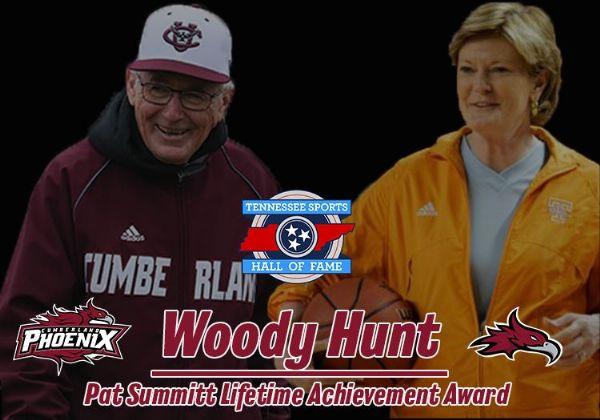 Hunt named TSHF Pat Summitt Lifetime Achievement Award