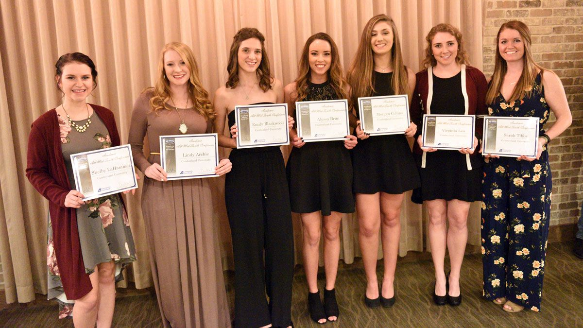 Eight cheer-dance team members earn Academic All-MSC honors