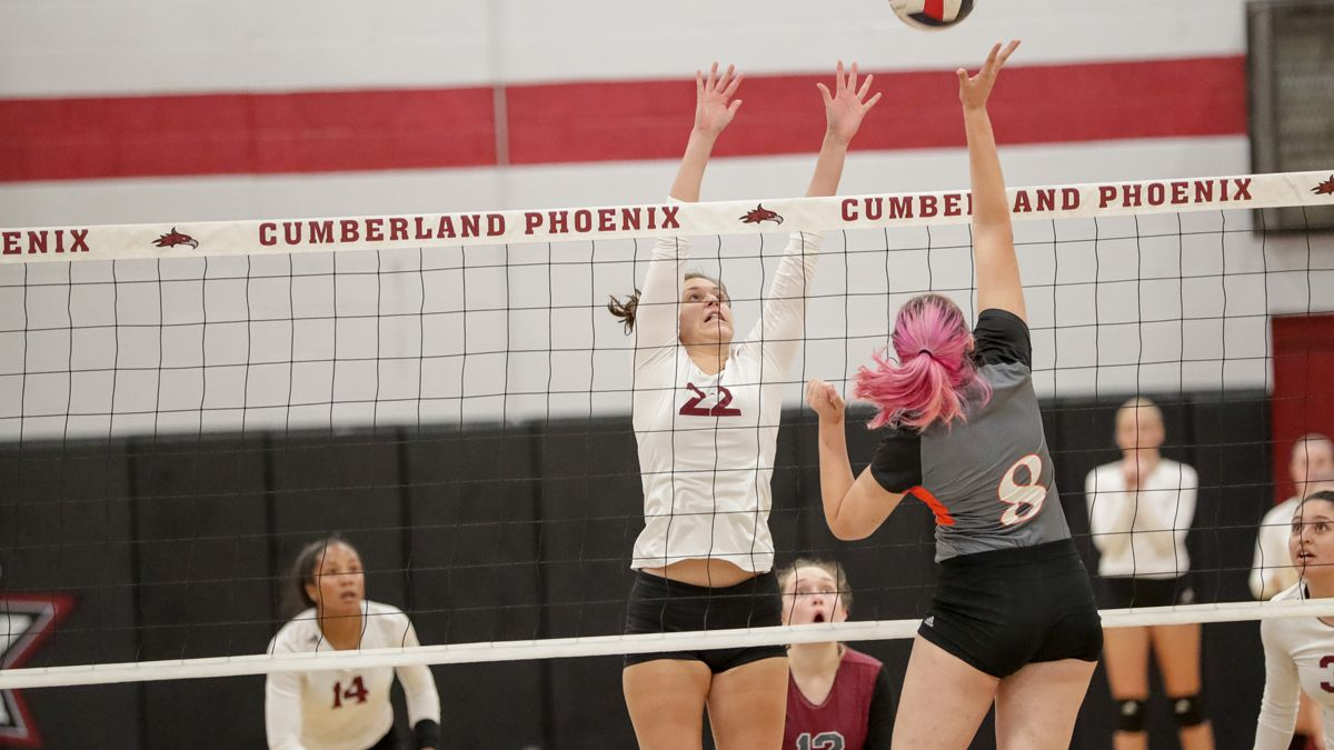 Volleyball splits on second day in St. Louis