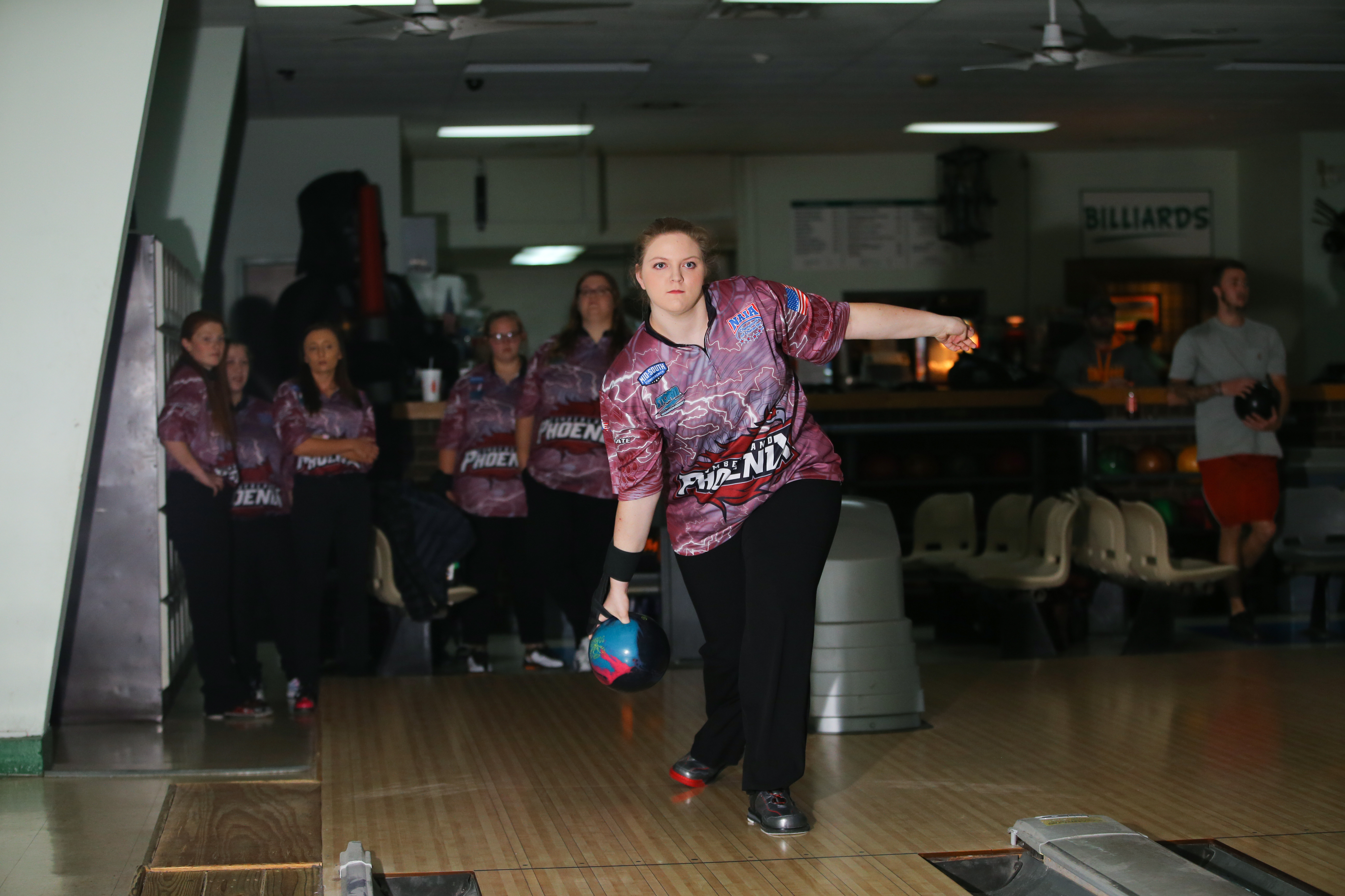 Women's Bowling placed 4th in Tournament