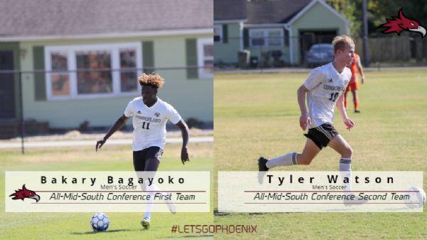 Bagayoko and Watson Earn All-MSC Honors