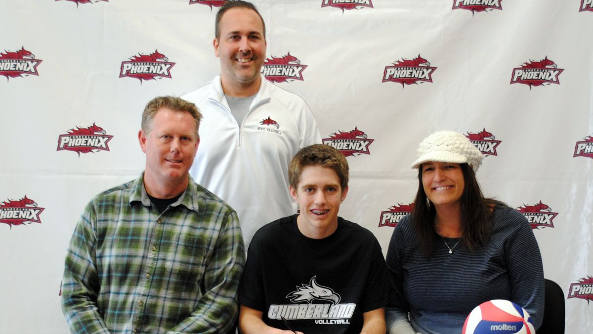 Colorado native Holmgren inks with CU men's volleyball