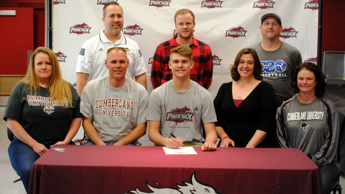 Wilson Central's Chambers inks with Phoenix men's volleyball