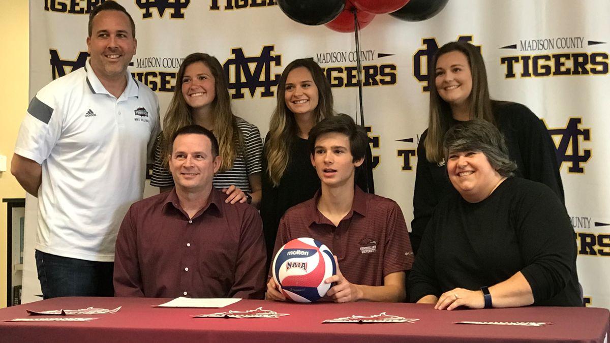 Huntsville's Pierce inks with CU volleyball