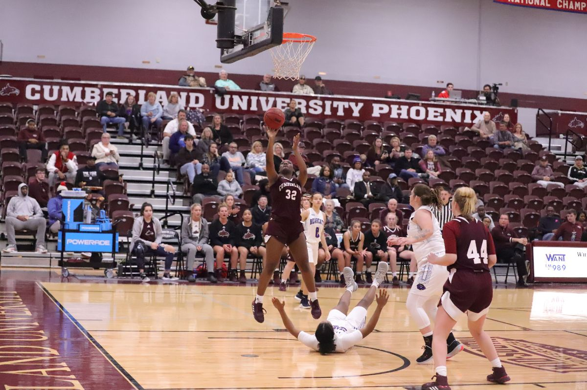 Cumberland caged the Bearcats in 71-52 Victory