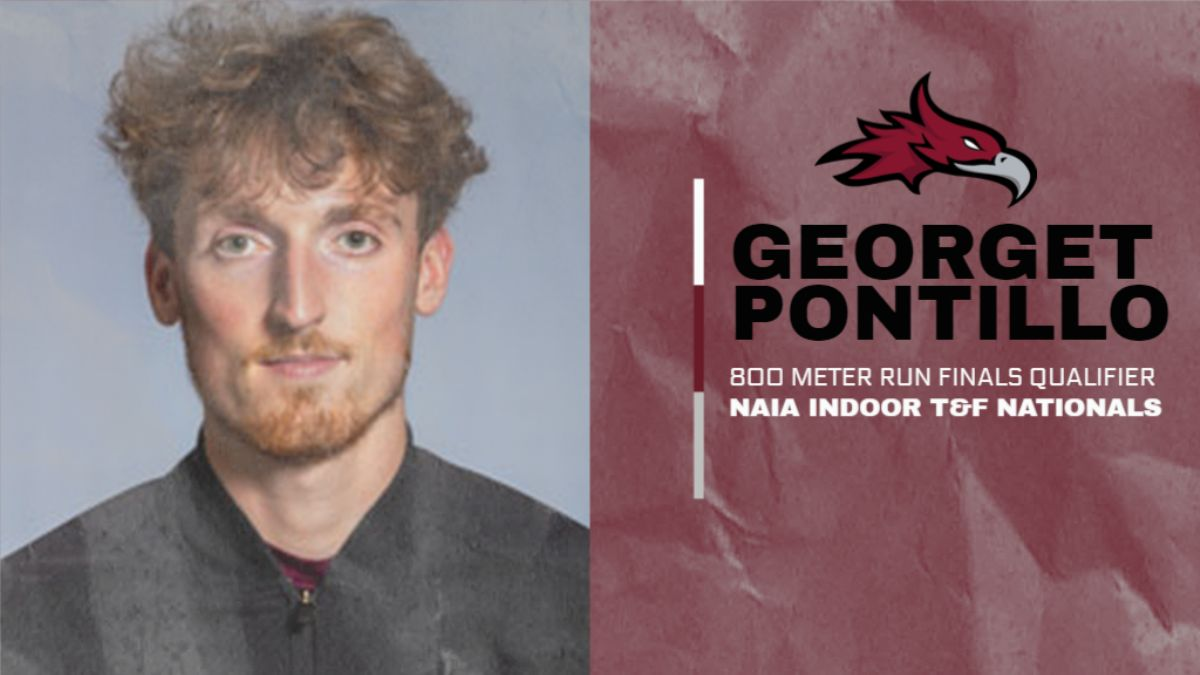 Pontillo Qualifies for the 800M Finals at the NAIA Track and Field Championships