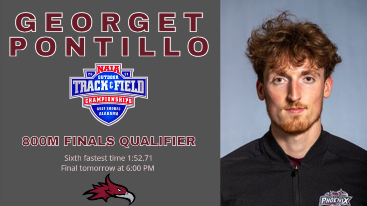 Pontillo  qualifies for 800m finals on day two of NAIA National Championships