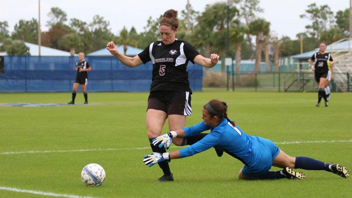 Women's soccer season ends in 4-0 loss