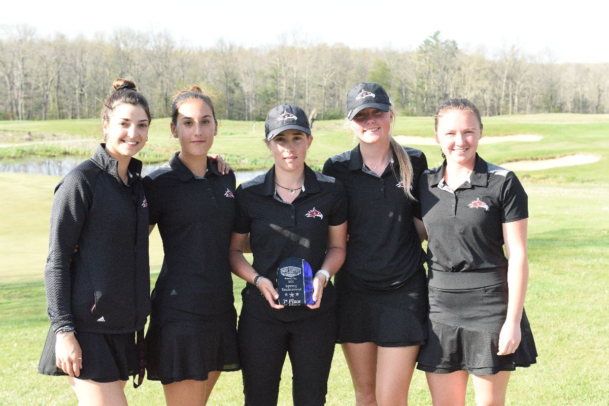 Women's Golf  takes third place at MSC Spring Classic; Nutu posts second place finish